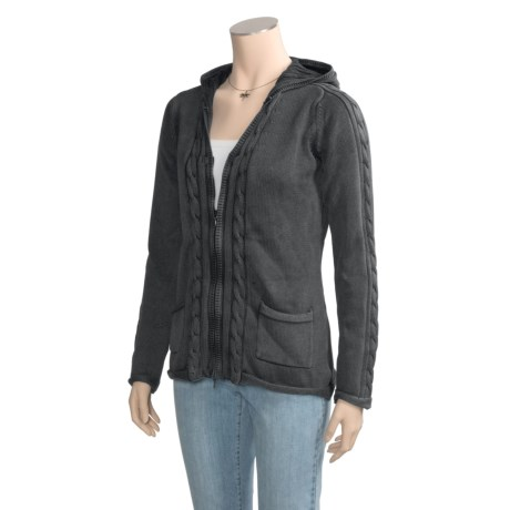 Aventura Clothing Whitley Sweater - Cotton, Hooded (For Women)