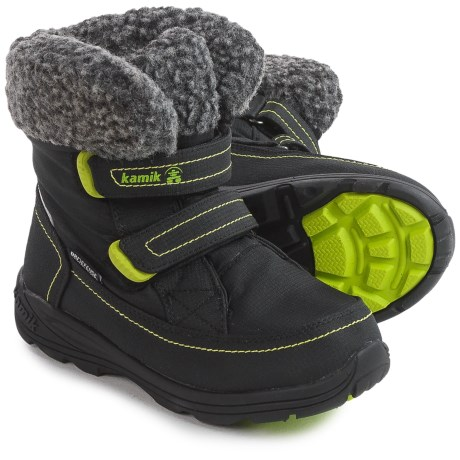 Kamik Leaf Snow Boots - Waterproof (For Little and Big Kids)