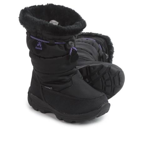 Kamik Garnet Snow Boots - Waterproof (For Toddlers)
