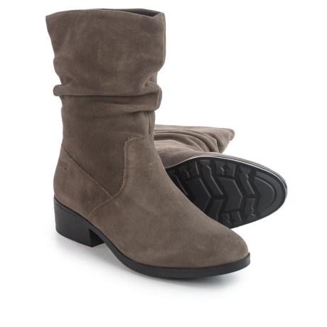 Cougar Chichi Silky Suede Ankle Boots - Waterproof (For Women)