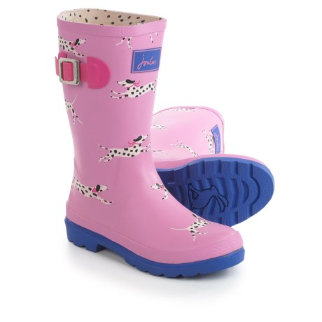 Joules Bon Bon Dalmatian Rain Boots - Waterproof (For Little and Big Girls)