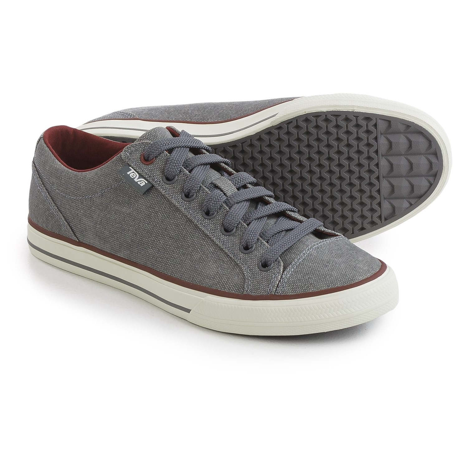 Teva Roller Washed Canvas Sneakers For Men 231mg Save 57