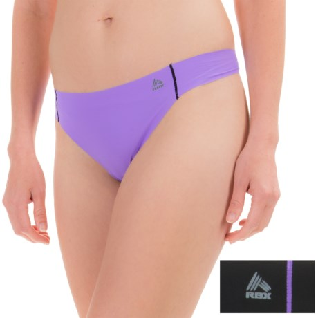 RBX Edge No-Show Thong Panties - 2-Pack (For Women)