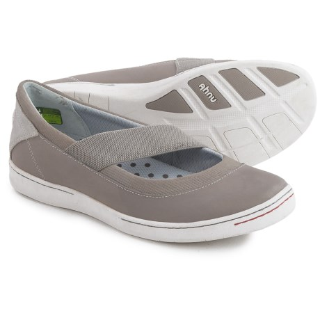 Ahnu Telegraph Leather Flats - Slip-On (For Women)