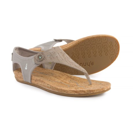 Ahnu Serena Sandals - Leather (For Women)