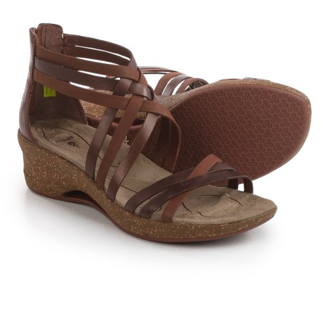 Ahnu Trolley Sandals - Leather (For Women)