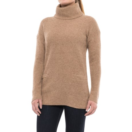 Ellen Tracy Wool Turtleneck Sweater (For Women)