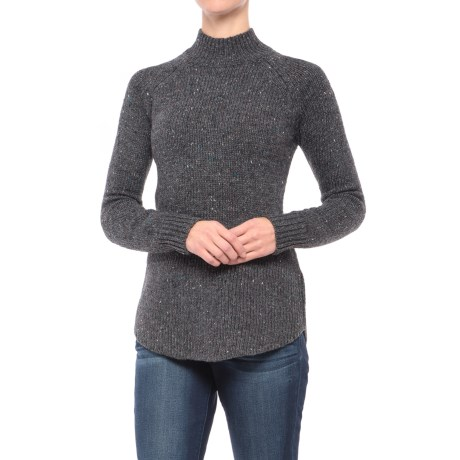 Cynthia Rowley Donegal Button-Back Tunic Sweater (For Women)