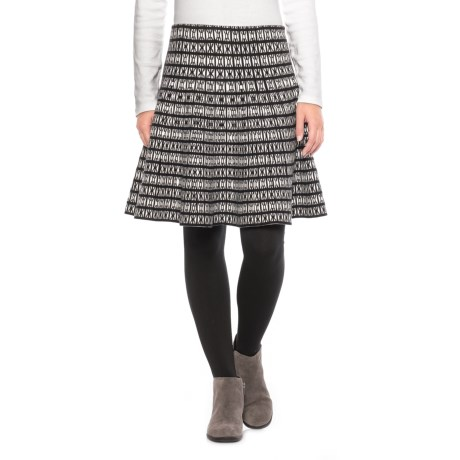 Cynthia Rowley Patterned Knit Skirt (For Women)