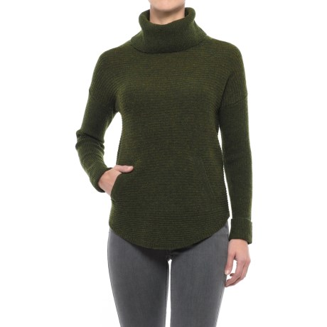 Max Studio Ottoman Turtleneck Tunic Sweater - Wool-Yak (For Women)