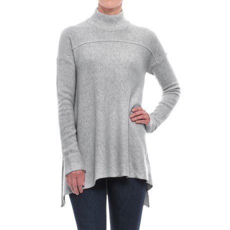 Artisan NY Mock Neck Tunic Sweater (For Women)