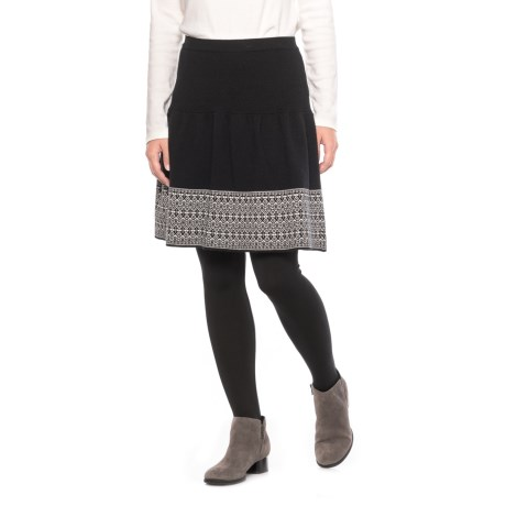 Cynthia Rowley Double-Knit Pattern Skirt (For Women)