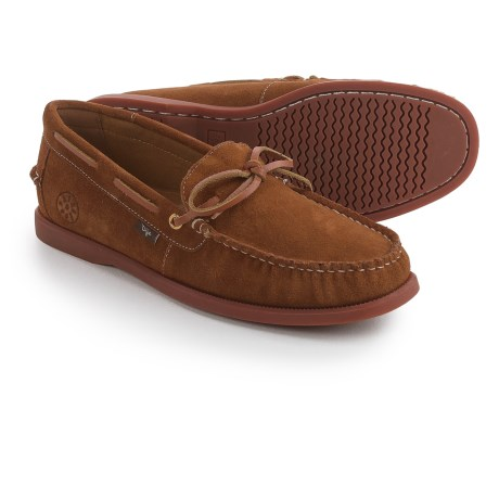 Dije California Ellis Moc Boat Shoes - Suede, Slip-Ons (For Men)