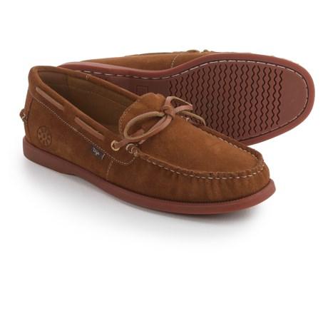 Dije California Ellis Moc Boat Shoes - Suede, Slip-Ons (For Men)