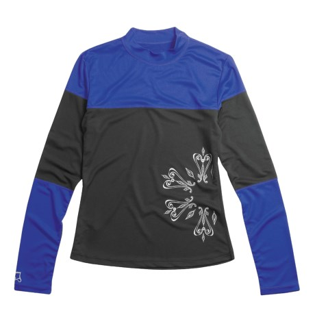 Skirt Sports Urban T-Shirt - Long Sleeve (For Women)
