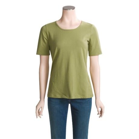 Aventura Clothing Castella T-Shirt - Stretch Organic Cotton Jersey (For Women)