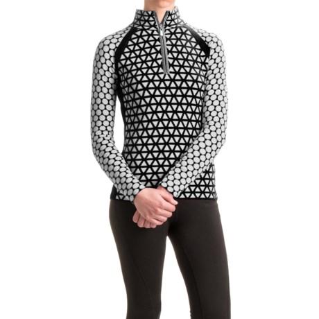 Neve Riley Zip Neck Sweater - Merino Wool (For Women)