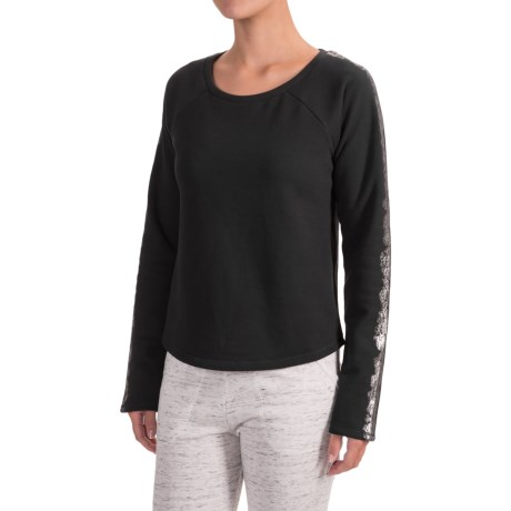 Yummie by Heather Thomson French Terry Shirt - Cotton, Long Sleeve (For Women)