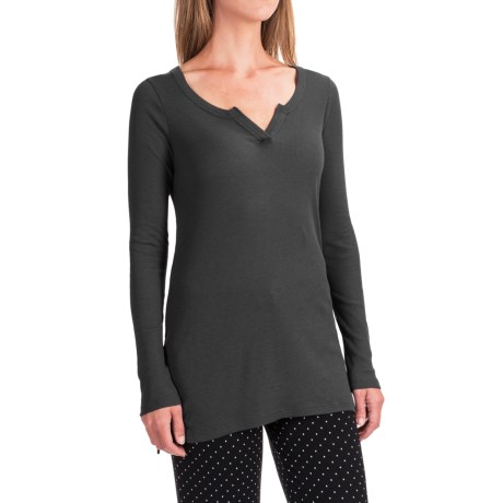 Yummie by Heather Thomson Baby Rib Shirt - V-Neck, Long Sleeve (For Women)