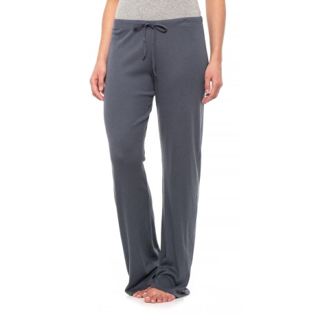 Yummie by Heather Thomson Baby Rib Lounge Pants - Wide Leg (For Women)