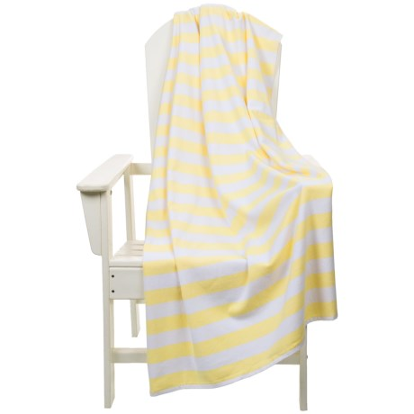 "The Turkish Towel Company Beach Towel and Tote Bag - 35x68"""