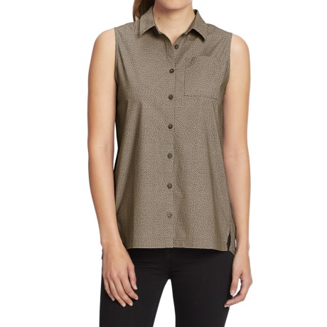 NAU Anti-Dot Sleeveless Top - Organic Cotton (For Women)