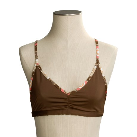 Aventura Clothing Splash Bikini Top - Racerback, Recycled Materials (For Women)