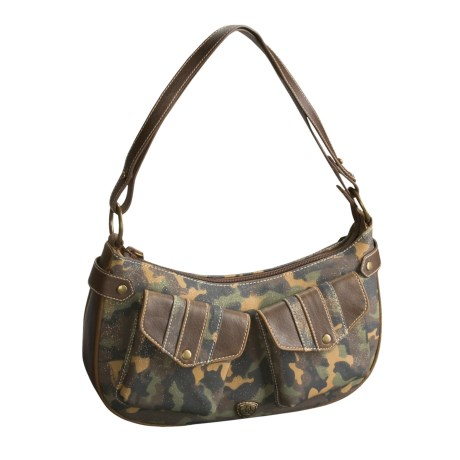 Ariat Camo Craze Mini Hobo Purse - Leather