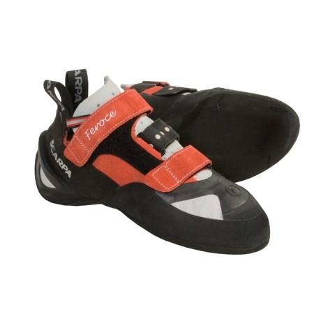 Scarpa Feroce Climbing Shoes (For Men and Women)