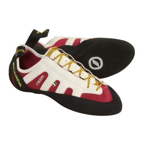 Scarpa Vision Climbing Shoes (For Men and Women