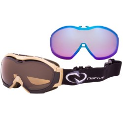 Native Eyewear Mission Snowsport Goggles - Polarized, Interchangeable Lenses