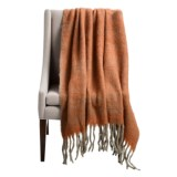 Tag Herringbone Wool Fringe Throw Blanket - 50x60""