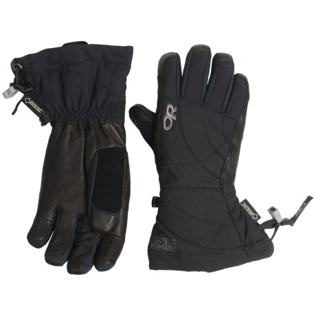 Outdoor Research Southback Gore-Tex® Gloves - Waterproof, Insulated (For Women)