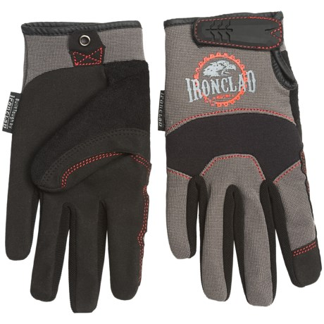 Ironclad Redline Workhorse Gloves (For Men)