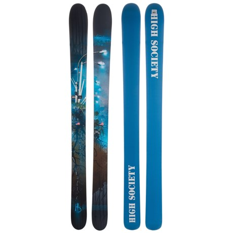 High Society Dr. Powchickawowwow Alpine Skis