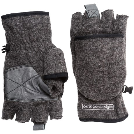 Outdoor Designs Tyrol Convertible Gloves (For Men and Women)