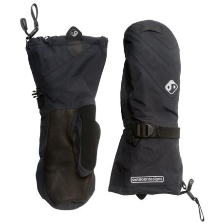 Outdoor Designs Summit Mitt Pro Shell Mittens - Waterproof, Insulated, Polartec® (For Men and Women)
