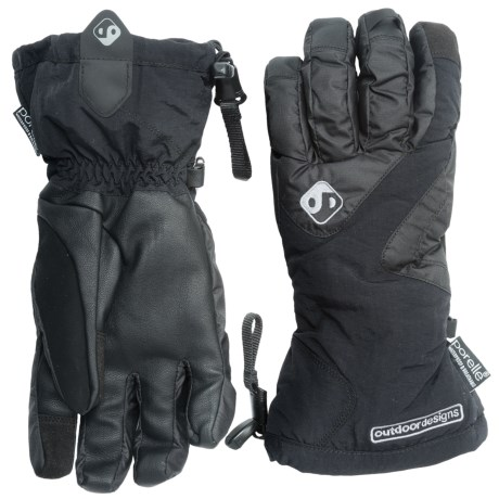 Outdoor Designs Summit 3-in-1 Gloves - Waterproof, Insulated (For Men and Women)