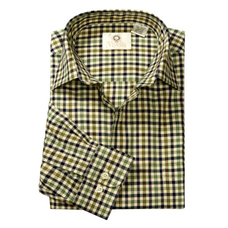 Viyella Check Sport Shirt -  Cotton-Merino Wool, Long Sleeve (For Men)