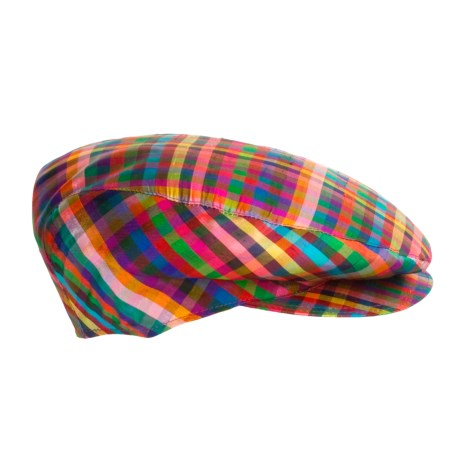 Altea Shantung Silk Driving Cap (For Men)