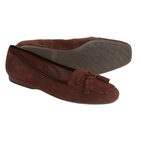 Enzo Angiolini Lizzia Loafers - Suede with Tassels (For Women)