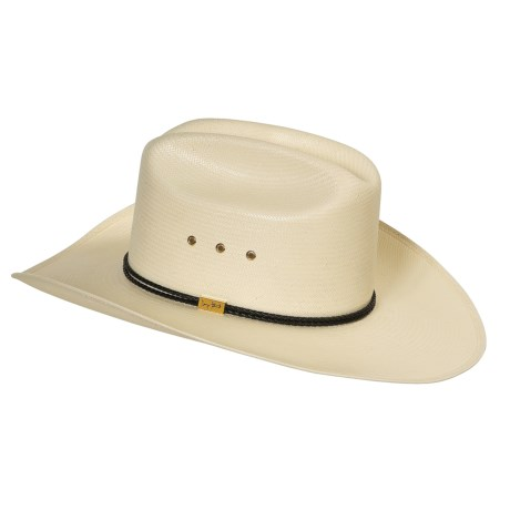 Resistol San Antone D Cowboy Hat - George Strait Collection, Straw (For Men and Women)