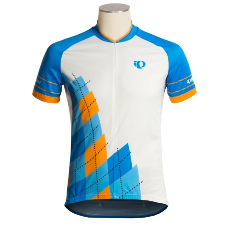 Pearl Izumi Garmin-Inspired Cycling Jersey - ¾-Zip, Short Sleeve (For Men)