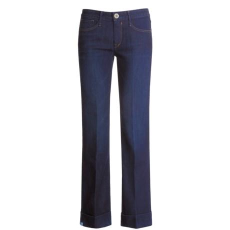 Earnest Sewn Dapper Cuffed Jeans (For Women)