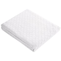 Melange Home Diamond Weave Blanket - King, Cotton