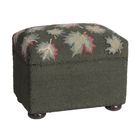 Chandler 4 Corners Storage Ottoman - Hooked Wool
