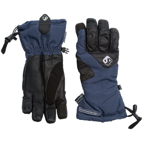 Outdoor Designs Summit Gloves - Waterproof, Insulated, Touchscreen Compatible (For Men and Women)