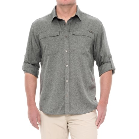 Pacific Trail Crosshatch Vented Shirt - UPF 30, Long Sleeve (For Men)