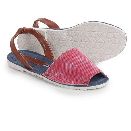 Henry Ferrera Open-Toe Slingback Sandals (For Women)