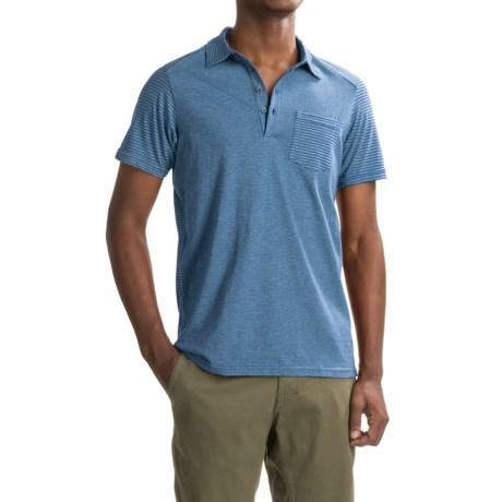 NAU Echo Polo Shirt - Organic Cotton, Short Sleeve (For Men)